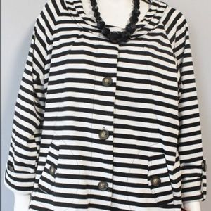 For Cynthia Striped Jacket